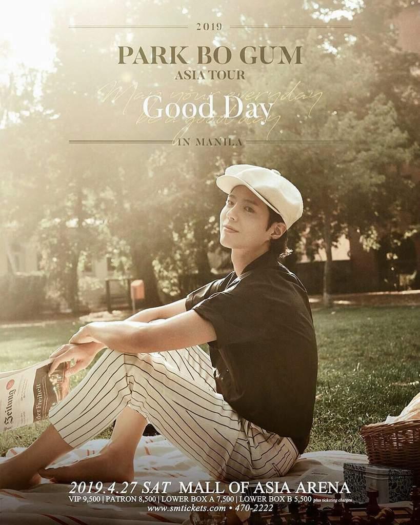 Park Bo Gum's Manila fan meet | K-Drama Amino