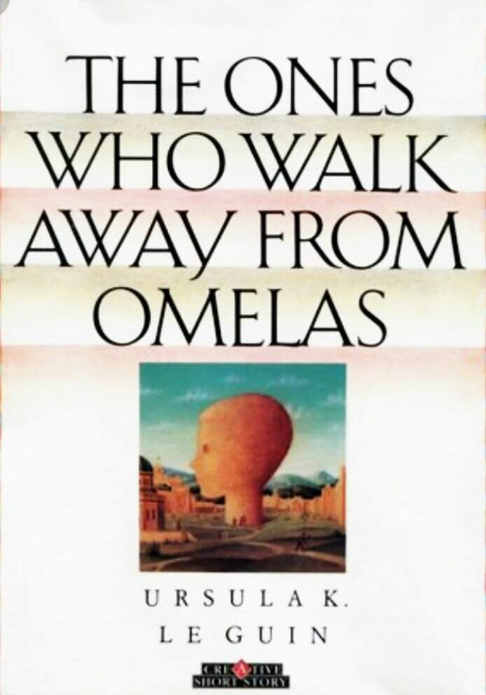 Resultado de imagem para the ones who walk away from omelas