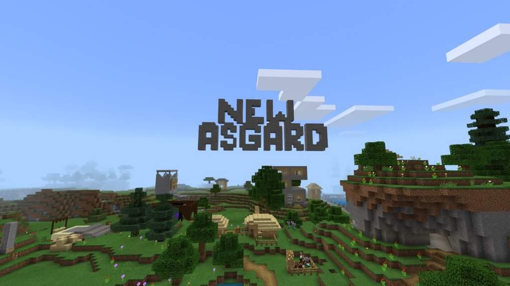 New Asgard Realm (Bedrock Survival) | Minecraft Amino