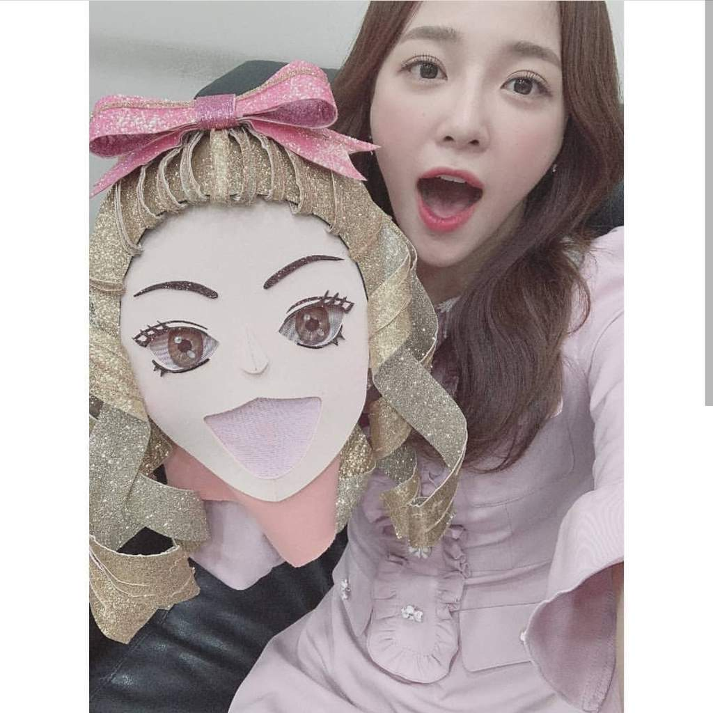 Who is this girl at King of Masked Singer??? | I O I Amino
