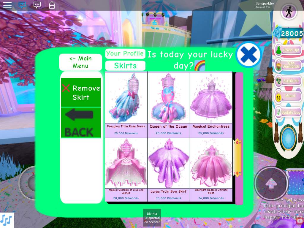Roblox Royale High Gamelog April 10 2019 Blogadr Free Skirts In Royale High