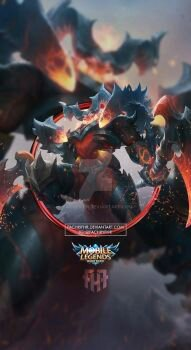 الصورة Wallpaper Phone Thamuz Lord Lava By Fachrifhr