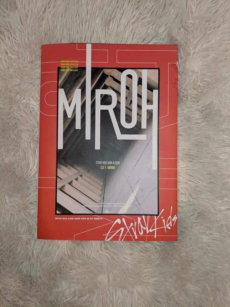 Clé 1: Miroh Album Unboxing!! (Limited version) | Stray Kids