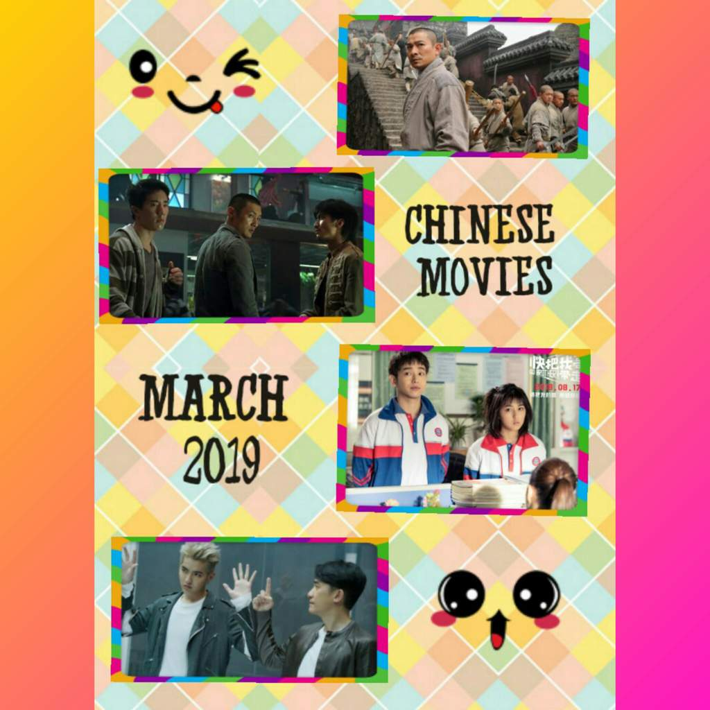 Chinese movies that I have watched on March 2019🤗🤗😃😃 | K