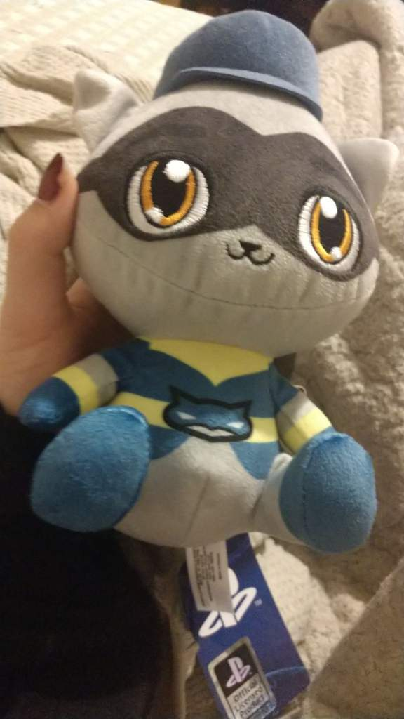 Sly Cooper Stuffed Animal, Super Unexpected Find At Gamestop Sly Cooper Raccoon Amino