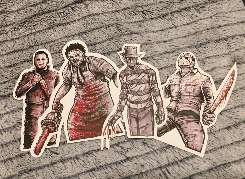 Comic Con Horror Stickers 🔪 | The Halloween Amino Amino