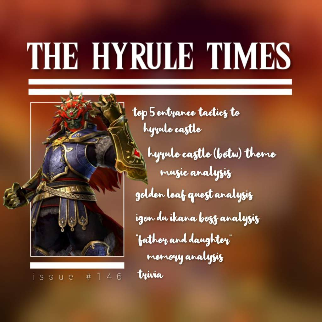 The Hyrule Times Issue 146 Zelda Amino