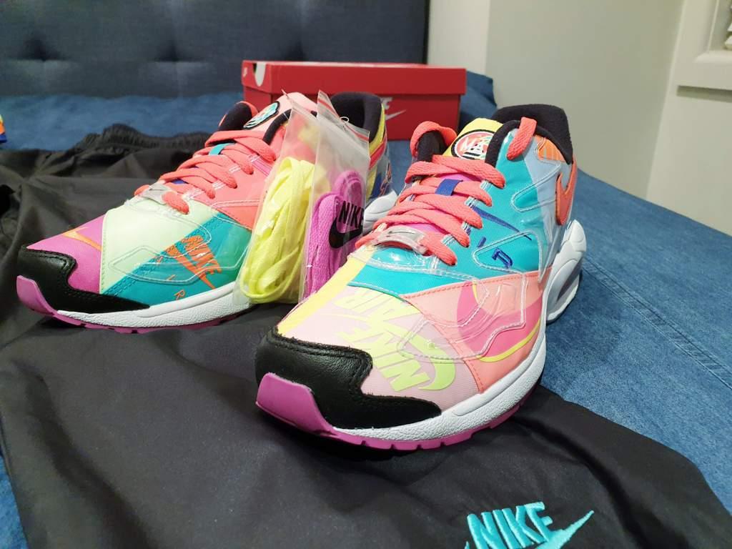 9d0c442dad Atmos x Nike Air Max2 Light QS Capsule (minus pink jacket ...