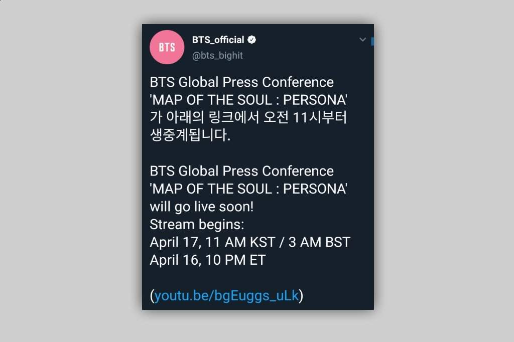 Ended Bts Global Press Conference Is Going Live Soon Army S Amino