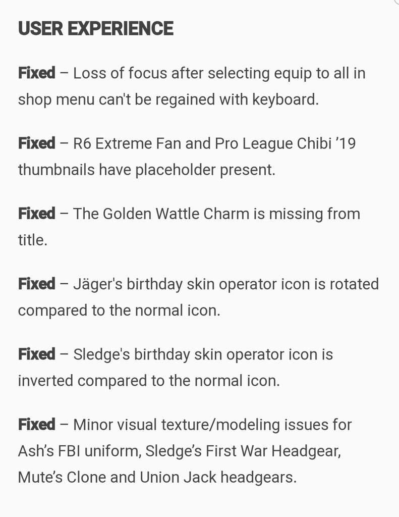 Update on blog | Rainbow Six Siege Amino