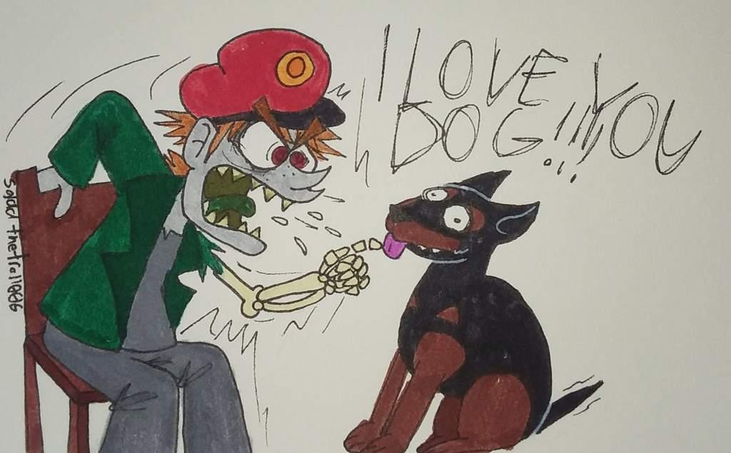 I love you dog   🌎Eddsworld🌎 Amino