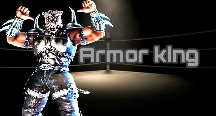 Edits😈(Ft unknown and Armor king) | Tekken Amino Amino