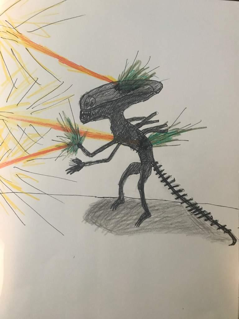 Evolution of my Xenomorph art/sketches! | Alien Versus