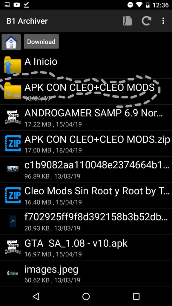 Cómo descargar el cleo mod para GTA SA android sin root | ♤♥ GTA