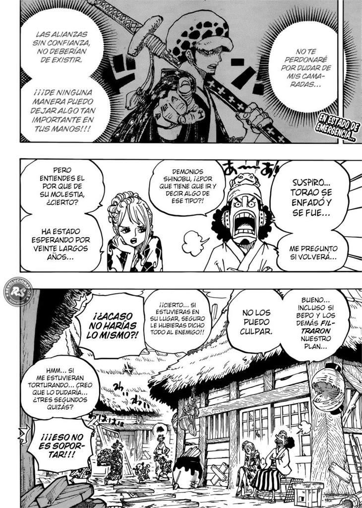 Manga One Piece ¦¦ Capítulo 940~ | •One Piece• Amino
