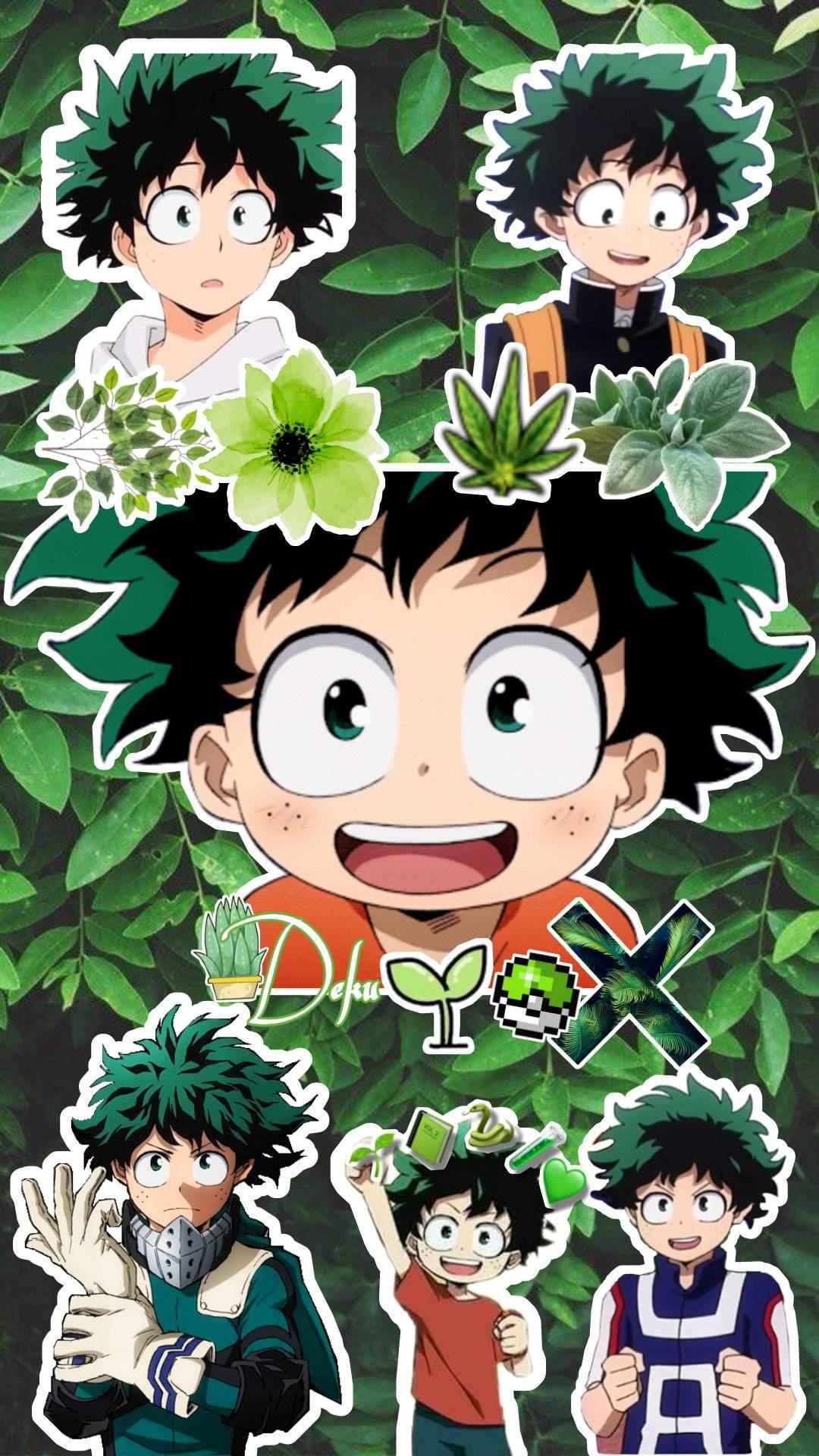 My Wallpaper Edit Of Deku My Hero Academia Amino