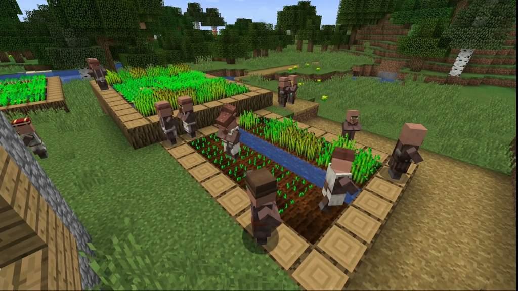 Survival Town Tour | Minecraft Amino