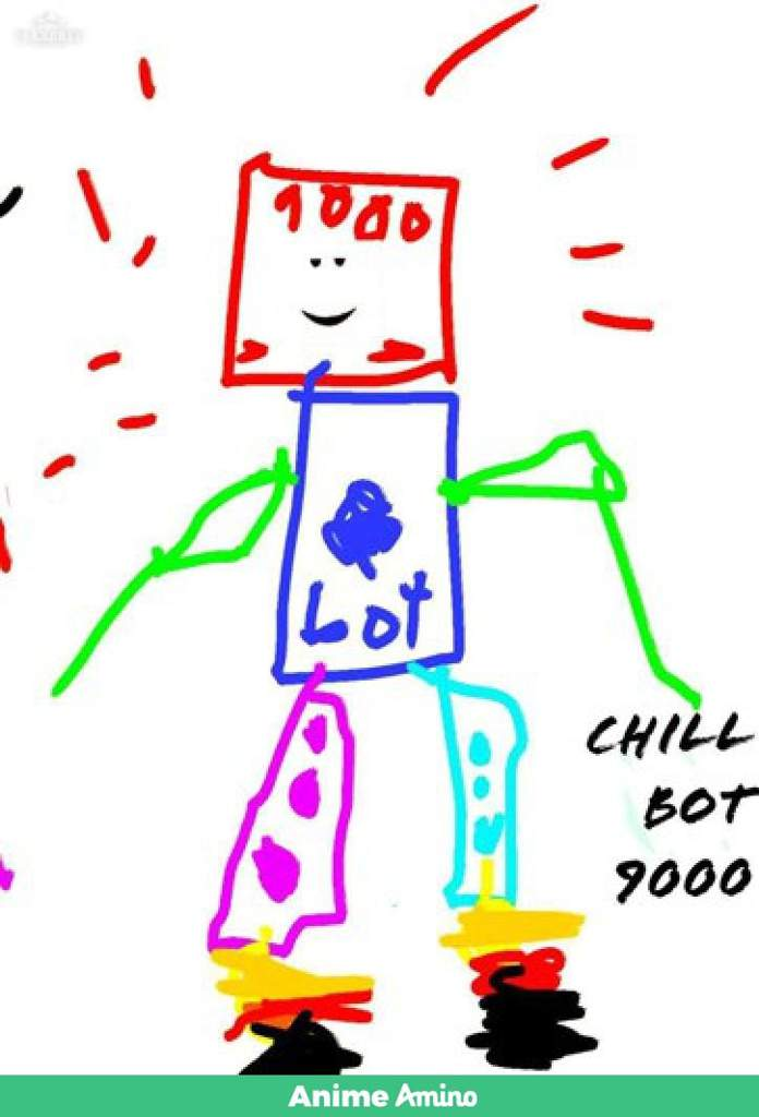 Chill bot 9000 is FOUND AND SAVED (I'M NOT THE CREATOR