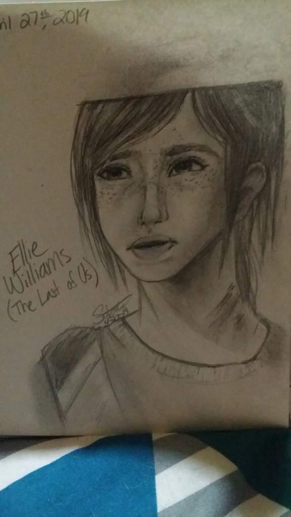 Ellie Williams Fanart The Last Of Us Amino