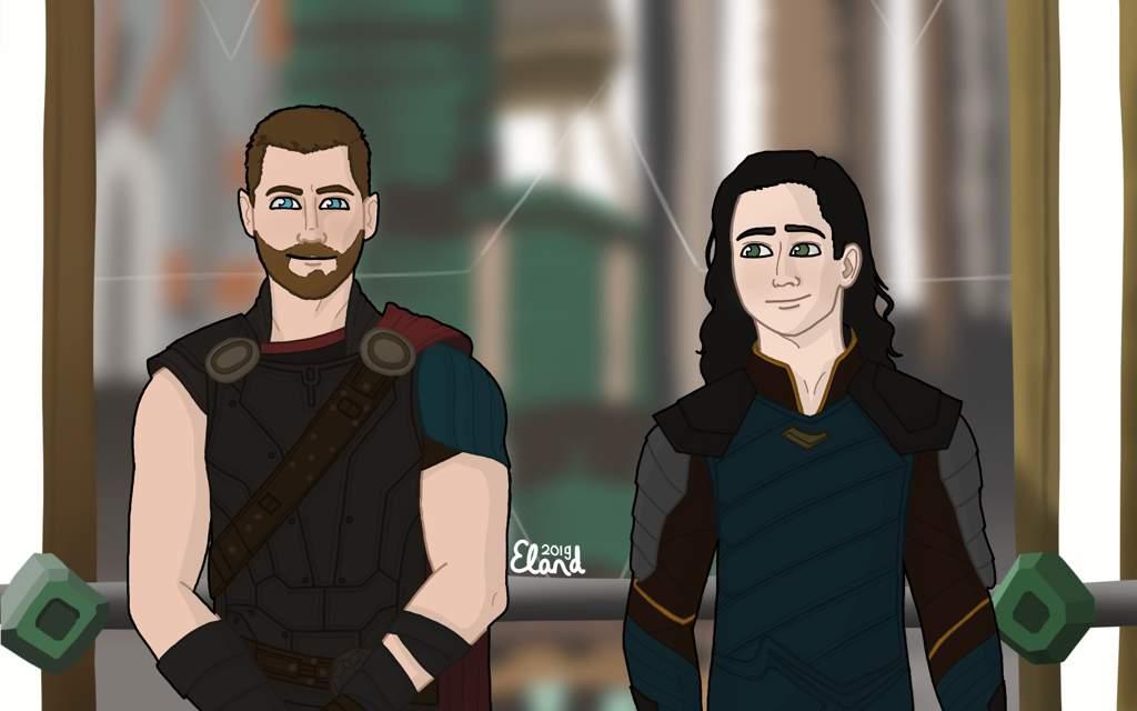 Loki And Thor Fanart Marvel Amino
