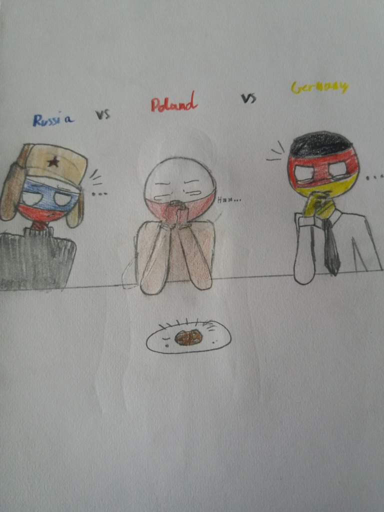 Russia Vs Poland Vs Germany XD | •Countryhumans Amino• [ENG] Amino