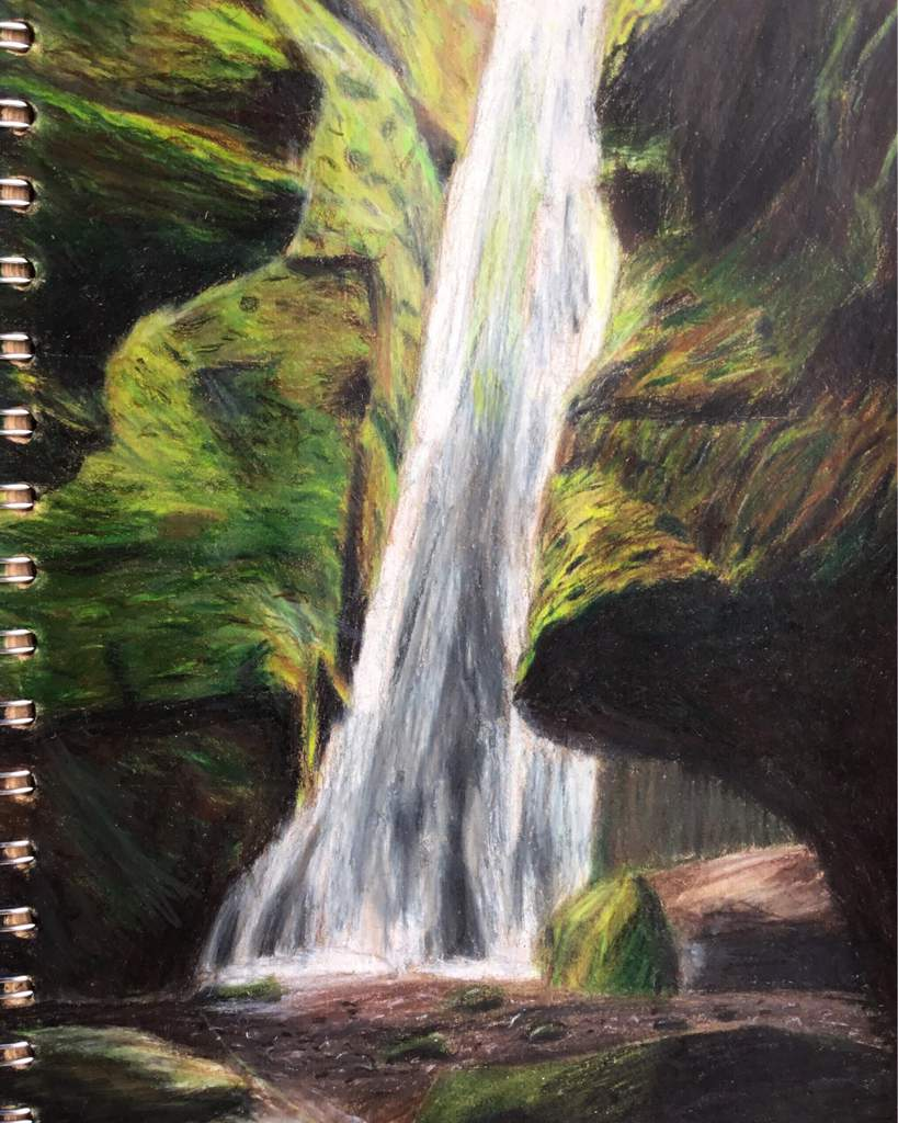 Thanks for the feature waterfall pencil drawing super sketches amino