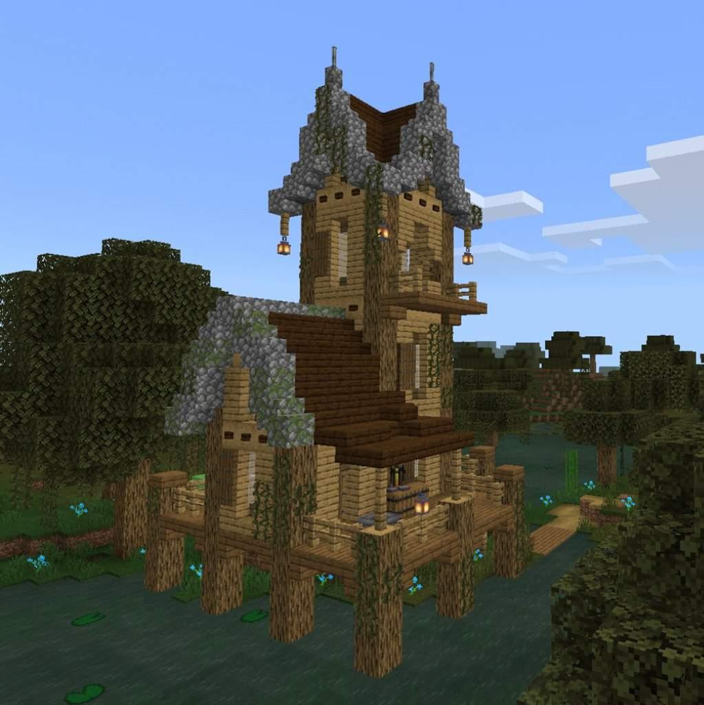 The witch hut  Minecraft Amino