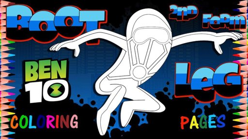 BEN 10 Face Coloring Pages | Colouring Pages for Kids with Colored ... | 287x512