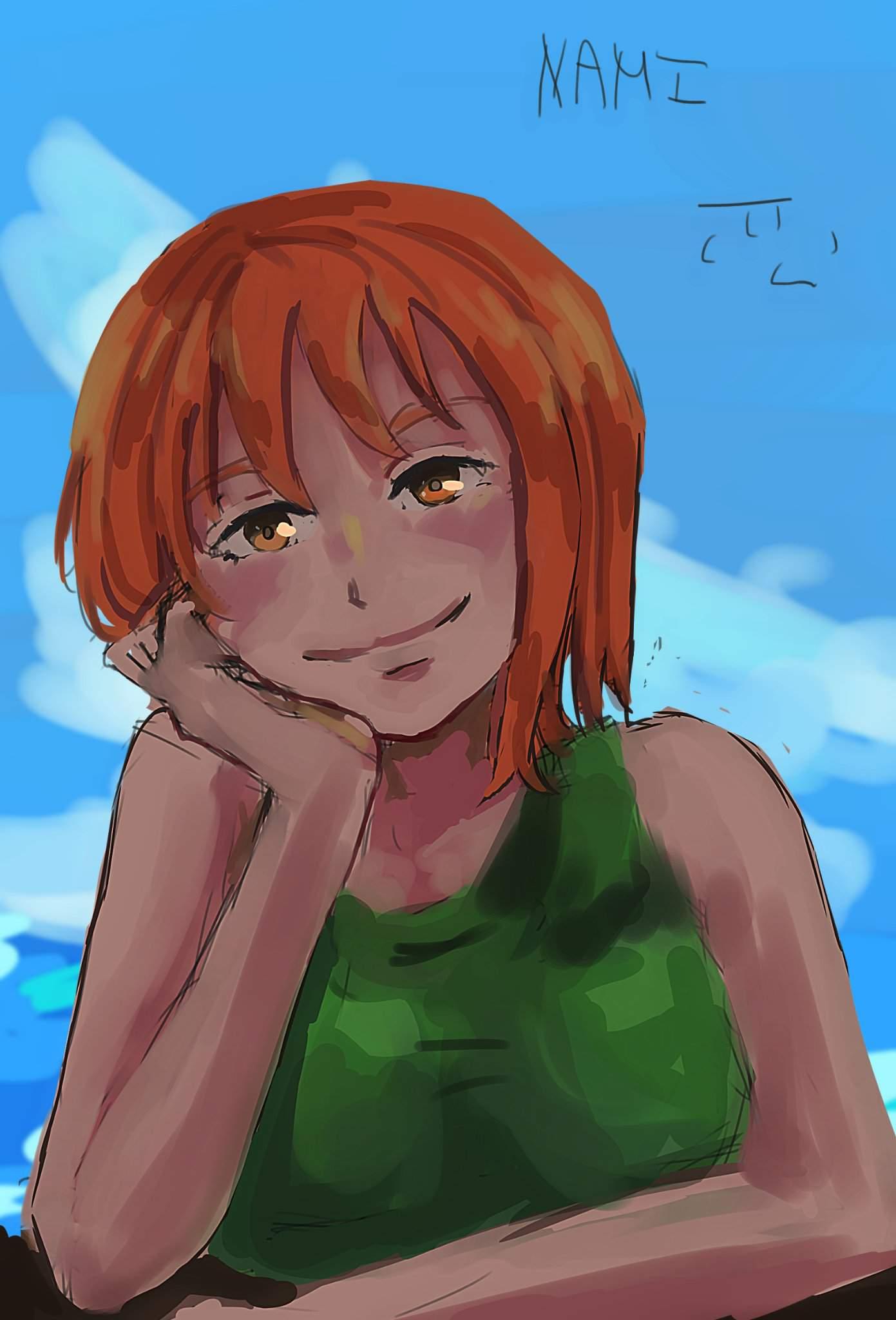 Mini-challenge: Nami | One Piece Amino