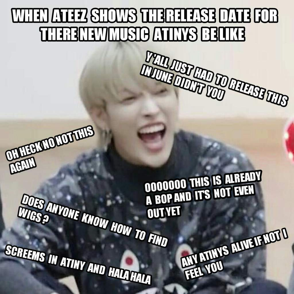 Ateez Reaction Memes Ateez 2020