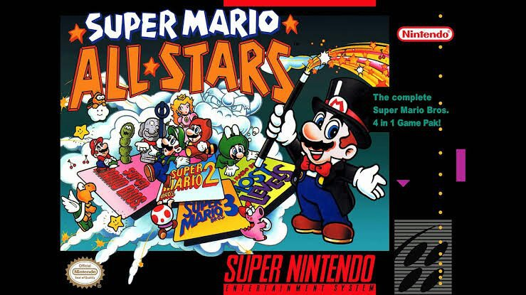 Game Suggestions #1: New Super Mario All-Stars   Nintendo