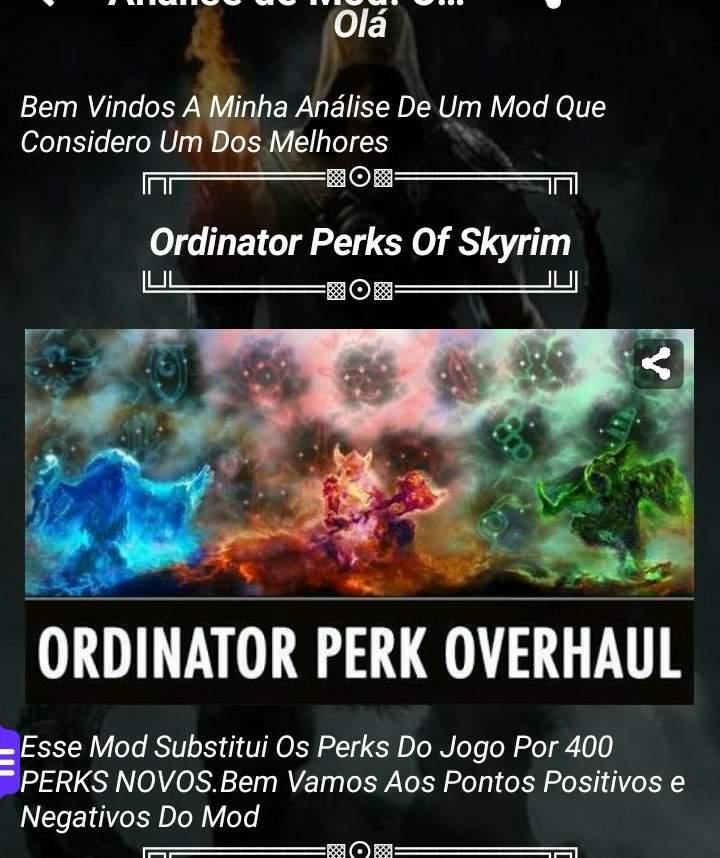 Skyrim Ordinator