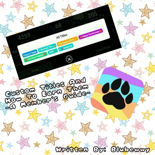 Custom Titles - A Member's Guide | Wiki | Furry Amino