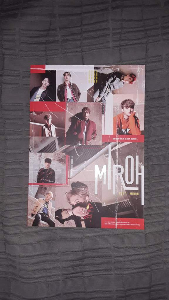 My signed CD / Stray Kids album MIROH CLE 1 | Stray Kids Amino