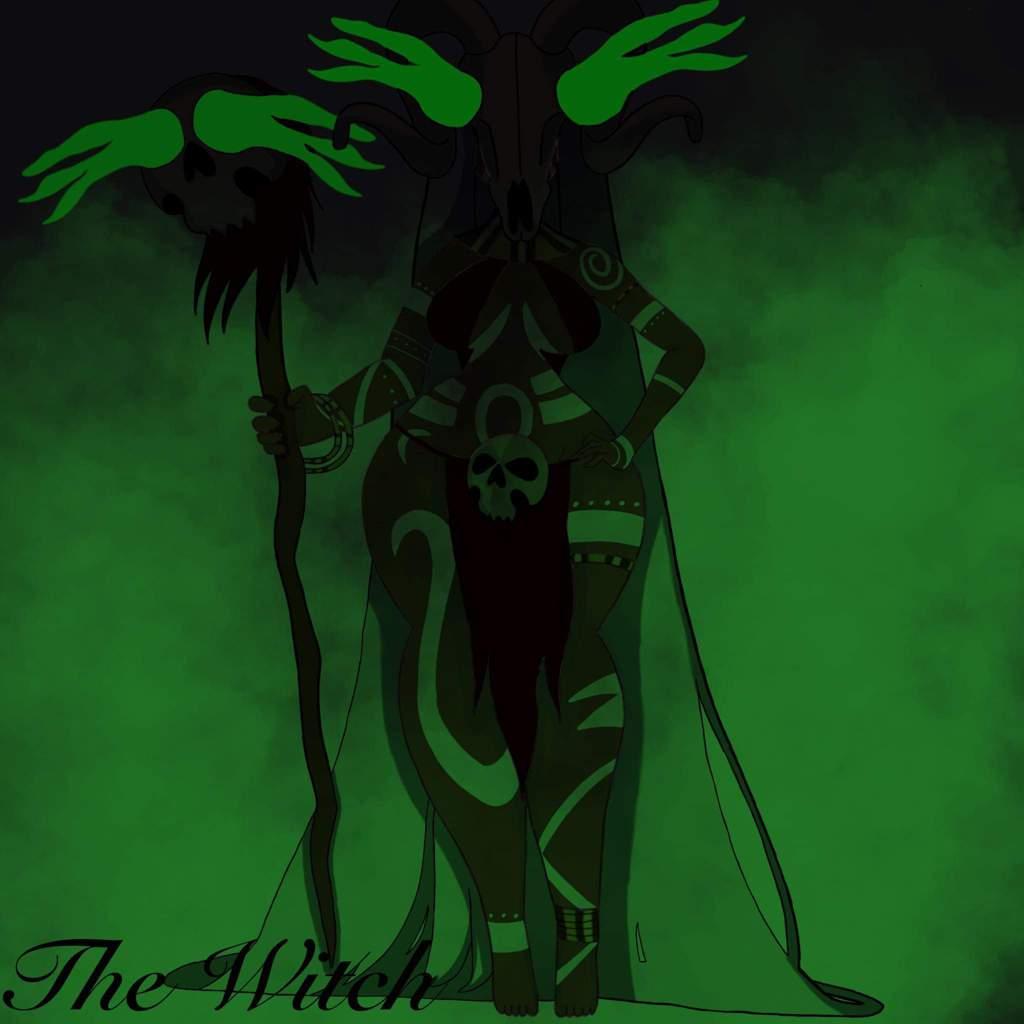 Witch Doctor/Voodoo Priestess   Digital-Art Amino