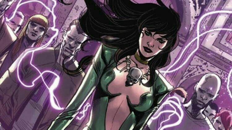 Marvel comics version of Morgan Le Fey