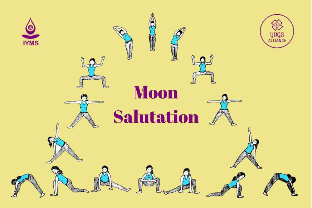 Mother Moon Moon Salutation Yoga Pagans Witches Amino