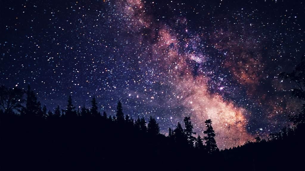 моя юность, красивое звездное небо картинка на рабочий стол меня почти