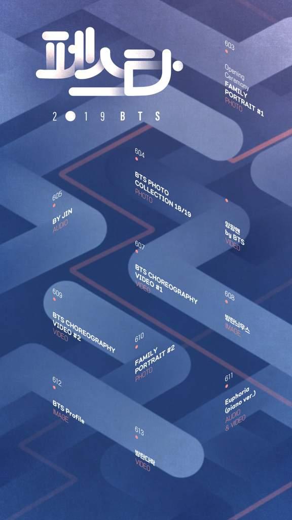 2019 BTS FESTA SCHEDULE | BTS Amino