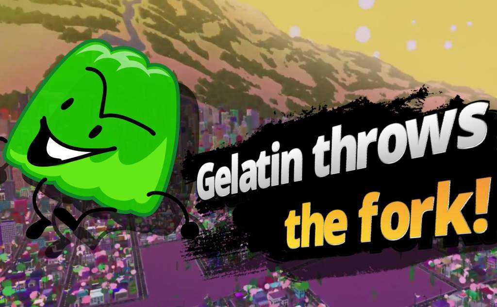 Gelatin joins the battle! Super B F D I  Bros Ultimate