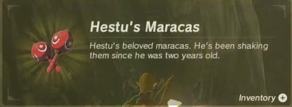 Hestu S Maracas Wiki Zelda Amino