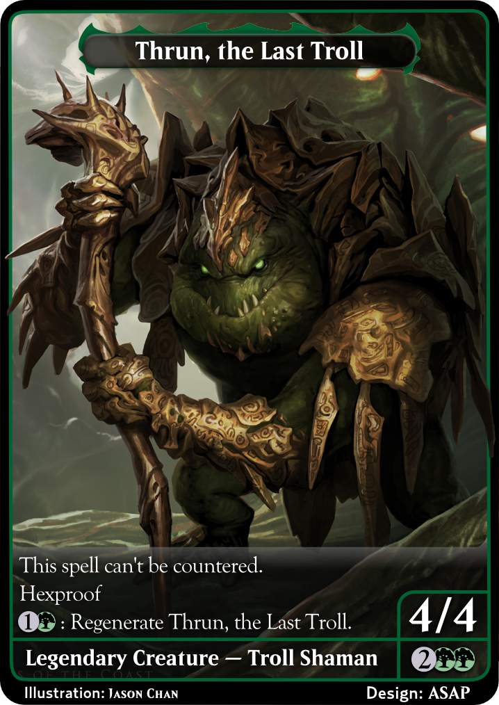 the Gathering the Last Troll by Magic Thrun