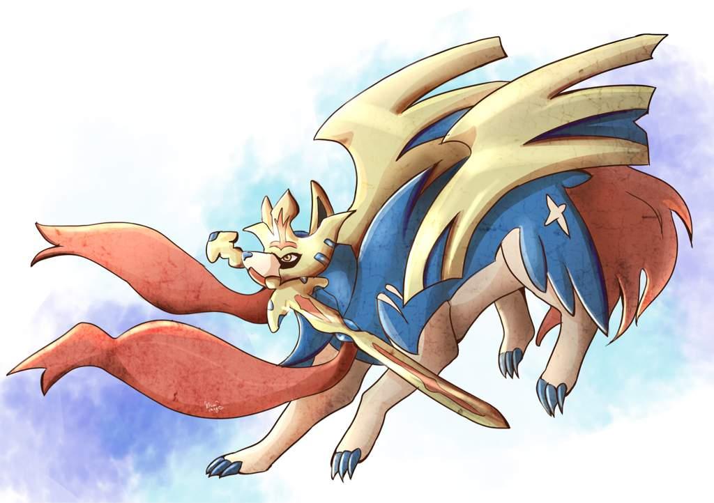 Zacian Fanart Pokemon Amino