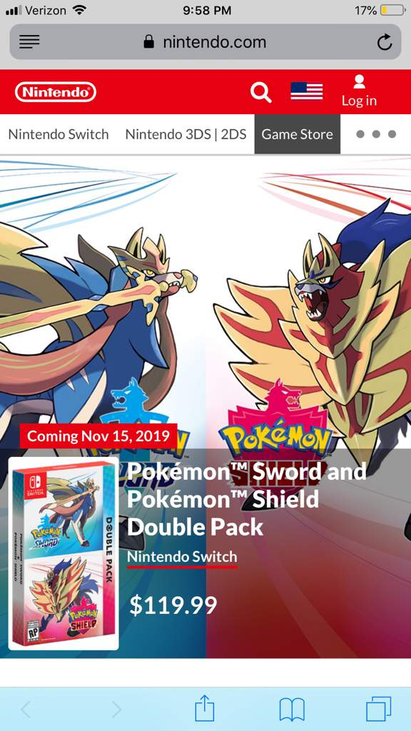 How Do I Pre Order The Double Pack Pokemon Sword And Shield Amino