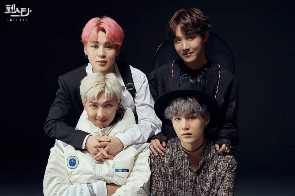 RM, Suga, Jhope, Jimin 💜💜 #2019BTSFESTA | BTS Amino