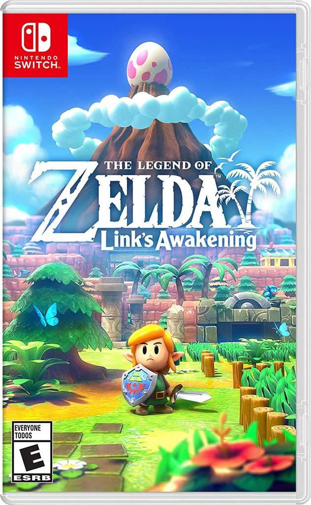 The Legend Of Zelda Link S Awakening Switch Boxart