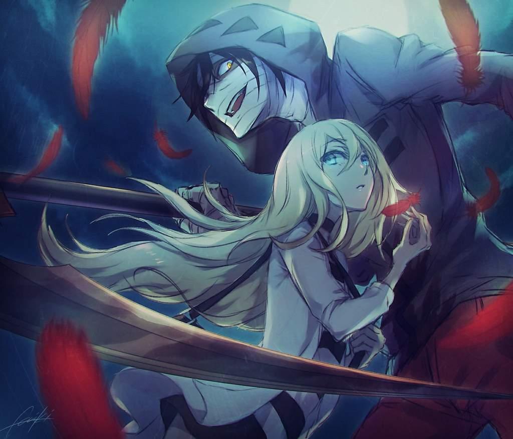 Смешные, классные картинки из аниме ангел кровопролития