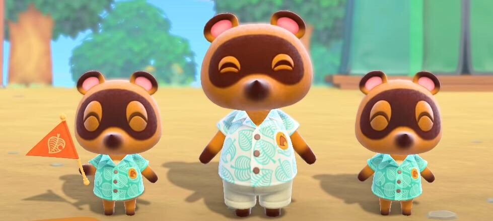 Animal Crossing New Horizons - Tom Nook Minecraft Skin
