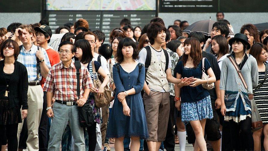 Японские люди фото