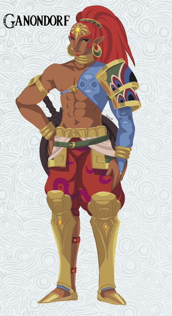 Botw Ganondorf Zelda Amino
